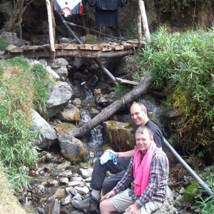 INCATRAIL - wassen in een bergriviertje ...