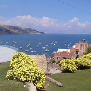 Hotel La Cupula- zicht vanuit tuin