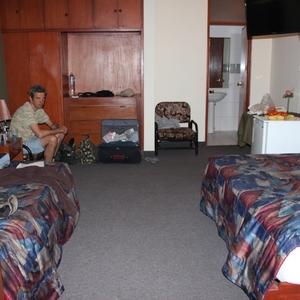 De ruime kamer in Hotel Texao