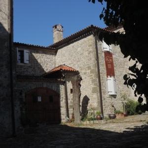 Villa San Vito in Groznjan, voorzijde