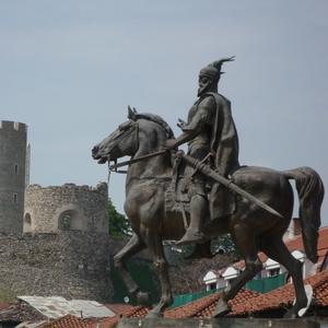 Skanderberg in Skopje