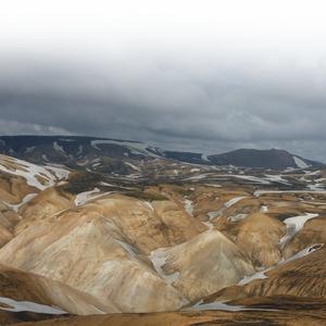 Fjallabak, op enkele kilometers van Hrafntinnusker