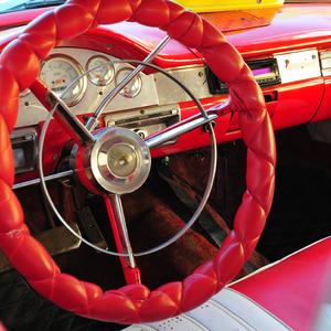 vintage car - Trinidad - Cuba