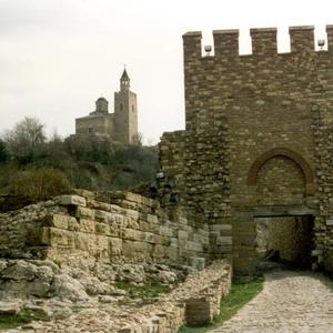 Oude burcht in Veliko Tarnovo