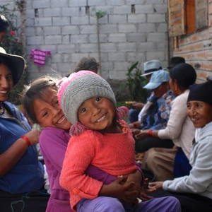 Bij het gastgezin Chomorros Otavalo