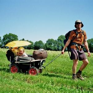 avontuurlijke trekking met kleine kinderen: GR 5
